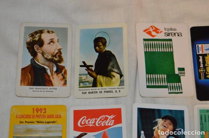 Coleccionismo Calendarios: LOTE 13 CALENDARIOS FOURNIER - CEGASA, COCACOLA, SANTA LUCÍA Y OTROS - 60, 80, 70 Y 90 - ENVÍO 24H - Foto 2 - 152961186
