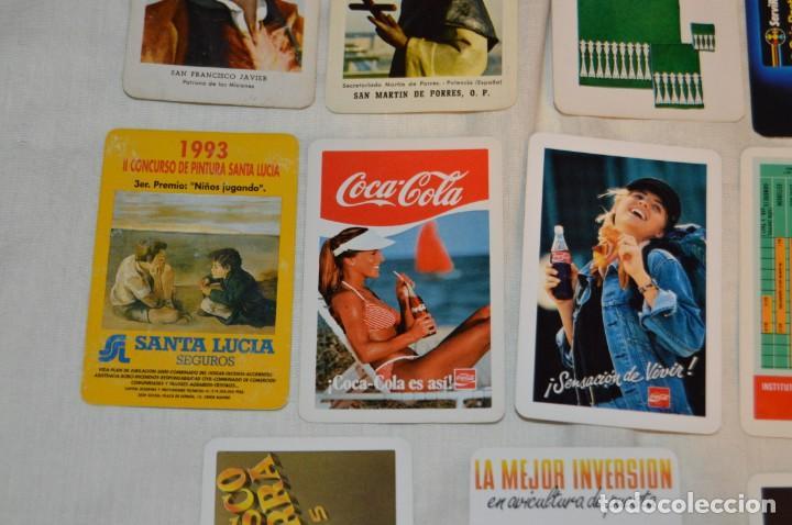 Coleccionismo Calendarios: LOTE 13 CALENDARIOS FOURNIER - CEGASA, COCACOLA, SANTA LUCÍA Y OTROS - 60, 80, 70 Y 90 - ENVÍO 24H - Foto 5 - 152961186