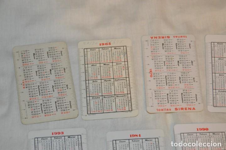 Coleccionismo Calendarios: LOTE 13 CALENDARIOS FOURNIER - CEGASA, COCACOLA, SANTA LUCÍA Y OTROS - 60, 80, 70 Y 90 - ENVÍO 24H - Foto 9 - 152961186