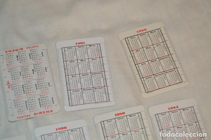 Coleccionismo Calendarios: LOTE 13 CALENDARIOS FOURNIER - CEGASA, COCACOLA, SANTA LUCÍA Y OTROS - 60, 80, 70 Y 90 - ENVÍO 24H - Foto 10 - 152961186
