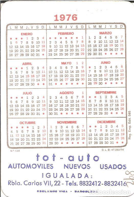 Calendario Julio 1976.Calendario Desnudo Chica 1976