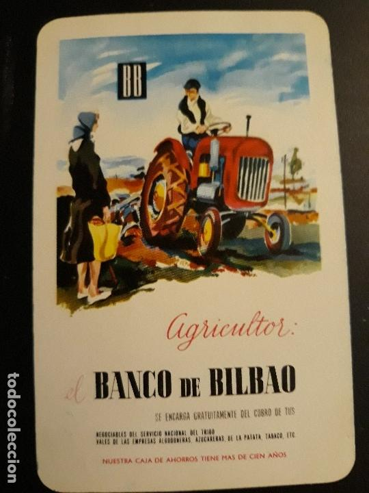 1 CALENDARIO H. FOURNIER DE ** BANCO DE BILBAO ** 1963 (Coleccionismo - Calendarios)