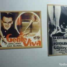 Coleccionismo Calendarios: LOTE CALENDARIOS CINE PELICULAS JAMES CAGNEY 1947. Lote 153106162