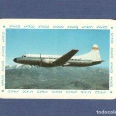 Coleccionismo Calendarios: CALENDARIO DE BOLSILLO FOURNIER AÑO 1963 - AVIACO, COMPAÑIA AEREA. Lote 153115478