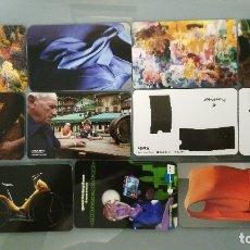 Coleccionismo Calendarios: 11 CALENDARIOS DE LA KUTXA (CAJA SAN SEBASTIAN) DE 2003 A 2012. Lote 90648570