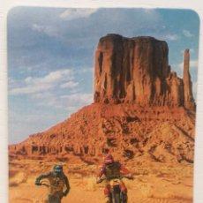 Coleccionismo Calendarios: CALENDARIO MOTOCICLETA GUZZI MONTESA - ANGEL DEL CASTILLO - SANTANDER (CANTABRIA) AÑO 1989. Lote 153475572