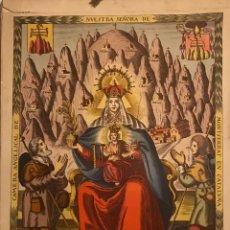 Coleccionismo Calendarios: 1946 CALENDARIO LITÚRGICO DE MONTSERRAT. Lote 153556190