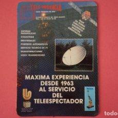 Coleccionismo Calendarios: CALENDARIO DE BOLSILLO CON PUBLICIDAD TELE URGENCIA AÑO 1989 LOTE 19 MIRAR FOTOS. Lote 153702762