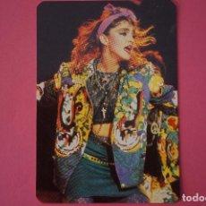 Collezionismo Calendari: CALENDARIO DE BOLSILLO CON PUBLICIDAD MADONNA AÑO 1989 LOTE 19 MIRAR FOTOS. Lote 199253088