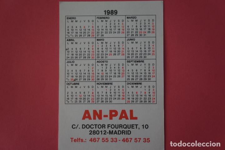 Coleccionismo Calendarios: CALENDARIO DE BOLSILLO CON PUBLICIDAD AN PAL SERVICIO TECNICO AÑO 1989 LOTE 19 MIRAR FOTOS - Foto 2 - 153705766