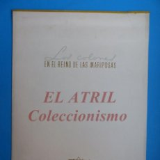 Coleccionismo Calendarios: CALENDARIO INDUSTRIAS PINTURAS TITAN TITANLUX, LOS COLONES EN EL REINO DE LAS MARIPOSAS - AÑO 1959. Lote 153706642