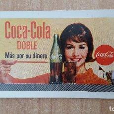 Coleccionismo Calendarios: CALENDARIO FOURNIER COCA COLA AÑO 1965 - VER FOTO ADICIONAL. Lote 153929202