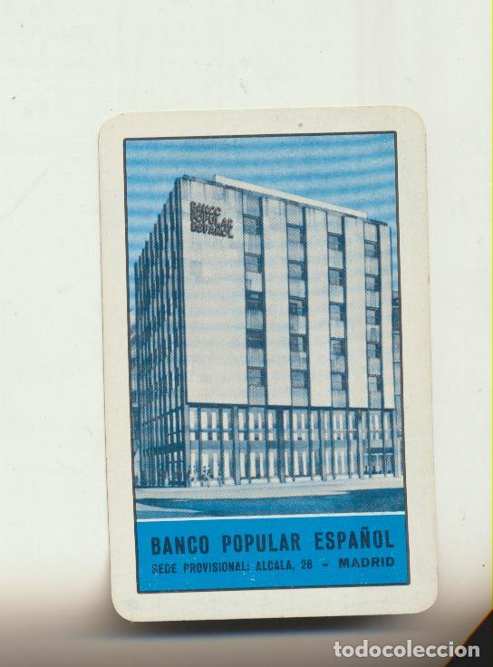 CALENDARIO FOURNIER. BANCO POPULAR 1963 (Coleccionismo - Calendarios)