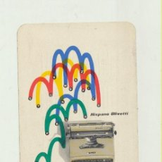 Coleccionismo Calendarios: CALENDARIO FOURNIER. HISPANO OLIVETTI 1956. Lote 154003560