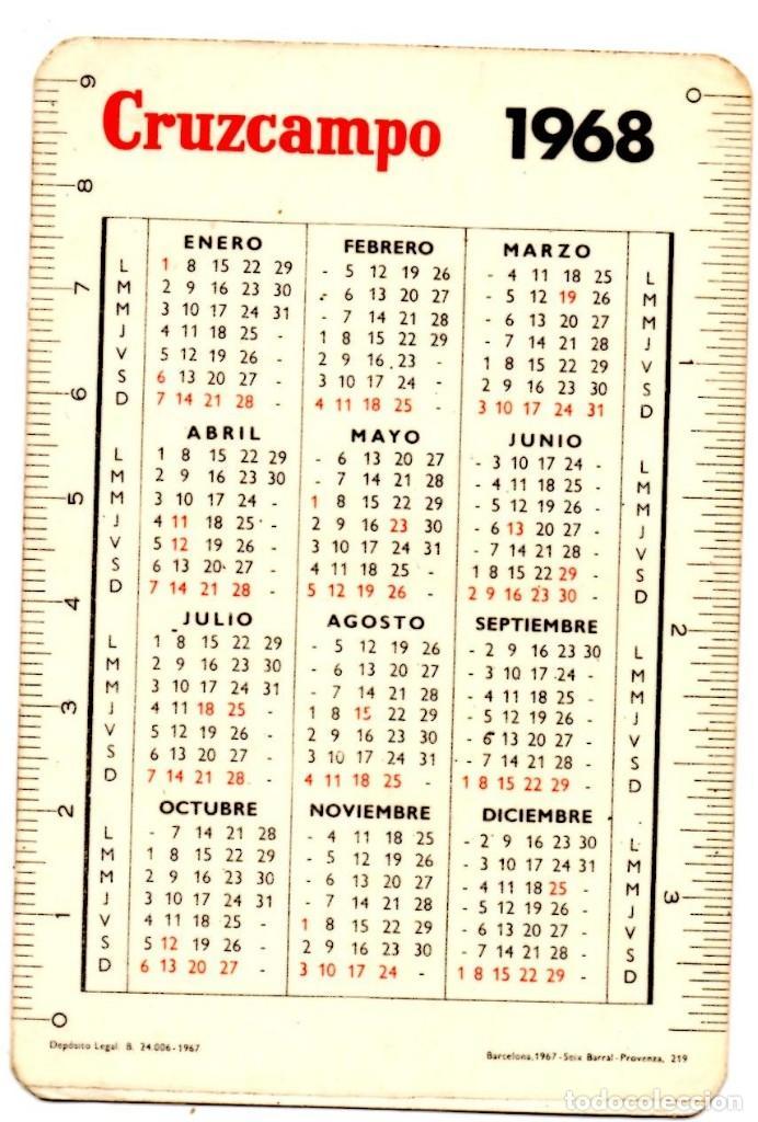 Calendario 1968.Calendario 1968 Cruzcampo Sold At Auction 154468694