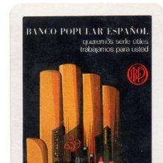 Coleccionismo Calendarios: CALENDARIO FOURNIER BANCO POPULAR 1969. Lote 154556154