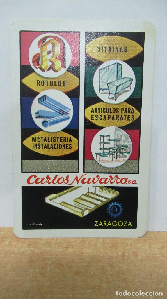 1974 CARLOS NAVARRO CALENDARIO FOURNIER . (Coleccionismo - Calendarios)
