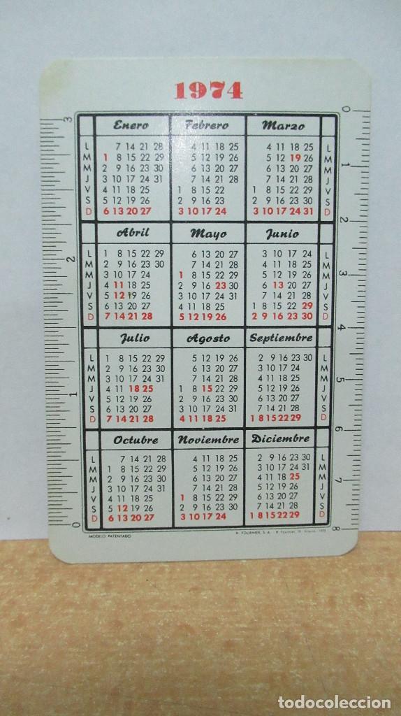 Coleccionismo Calendarios: 1974 Carlos Navarro Calendario Fournier . - Foto 2 - 154562426