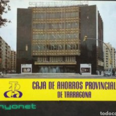 Coleccionismo Calendarios: CALENDARIO DE LA CAJA DE AHORROS PROVINCIAL DE TARRAGONA DE 1984. Lote 154738172