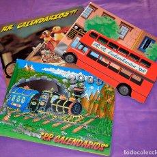 Coleccionismo Calendarios: LOTE CATÁLOGOS CALENDARIOS BOLSILLO, RR. (1998 - 1999 - 2000). Lote 57567422