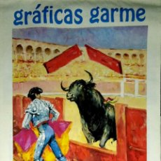 Coleccionismo Calendarios: MADRID.CALENDARIO.INDUSTRIAS GRAFICAS GARME. FERIAS 1996.. Lote 154865670