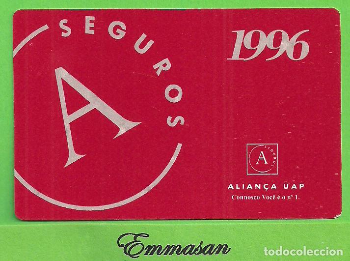 CALENDARIO DE BOLSILLO 1996 - SEGUROS ALIANÇA UAP - ALIANCA - PORTUGAL - PUBLICITARIO. (Coleccionismo - Calendarios)