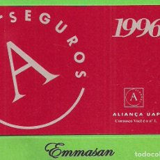 Sammeln von Kalendern - CALENDARIO DE BOLSILLO 1996 - SEGUROS ALIANÇA UAP - ALIANCA - PORTUGAL - PUBLICITARIO. - 154939110