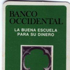 Coleccionismo Calendarios: UN CALENDARIO BANCO OCCIDENTAL AÑO 1977. Lote 154951414
