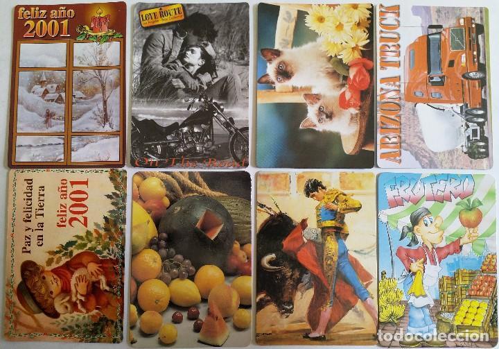LOTE 18 CALENDARIOS AÑO 2001 (Coleccionismo - Calendarios)