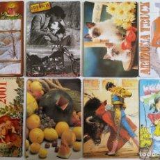 Coleccionismo Calendarios: LOTE 18 CALENDARIOS AÑO 2001. Lote 155002286
