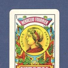 Coleccionismo Calendarios: CALENDARIO DE BOLSILLO FOURNIER AÑO 1963 - AS DE OROS HERACLIO FOURNIER. Lote 155142854