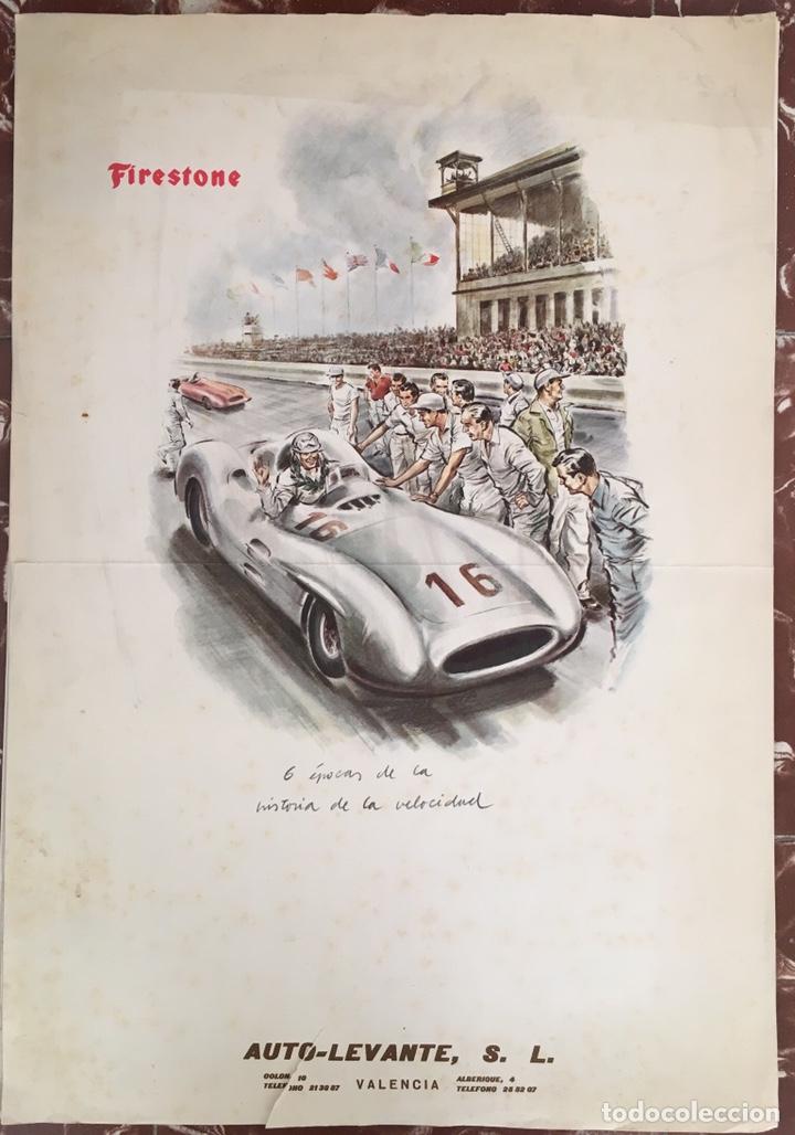Calendario Auto.Calendario Firestone 1960 Auto Levante Valencia