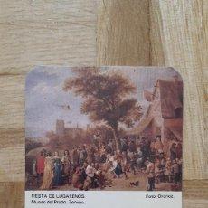 Coleccionismo Calendarios: CALENDARIO NO FOURNIER CERVEZA HENNINGER - FIESTA DE LUGAREÑOS - AÑO 1985 - VER FOTO ADICIONAL. Lote 155350850