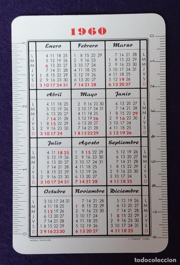 Coleccionismo Calendarios: CALENDARIO FOURNIER. BANCO GUIPUZCOANO. 1960 - Foto 2 - 155471810