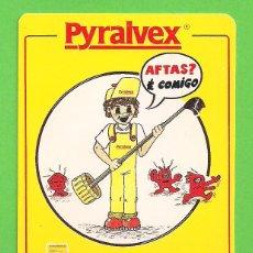 Coleccionismo Calendarios: CALENDARIO DE BOLSILLO 1991 - PYRALVEX - AO SERVIÇO DA SAUDE COM A FARMACIA PORTUGUESA - PORTUGAL.. Lote 155639502