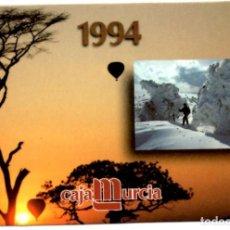 Coleccionismo Calendarios: CALENDARIO CAJAMURCIA 1994. Lote 155692862
