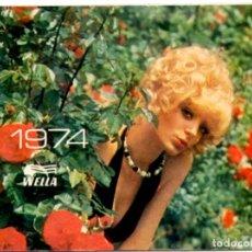 Coleccionismo Calendarios: CALENDARIO 1974 WELLA. Lote 155698534