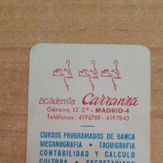 Coleccionismo Calendarios: CALENDARIO FOURNIER ACADEMIA CARRANZA AÑO 1974 - VER FOTO ADICIONAL. Lote 155753182