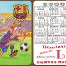 Coleccionismo Calendarios: CALENDARIOS DE BOLSILLO FUTBOL BARÇA AÑO 2000. Lote 155855010