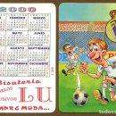Coleccionismo Calendarios: CALENDARIOS DE BOLSILLO FUTBOLMADRID AÑO 2000. Lote 155855082