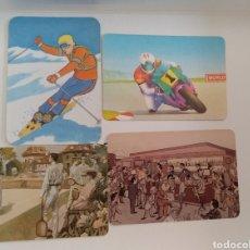Coleccionismo Calendarios: CALENDARIOS BOLSILLO DIBUJOS. Lote 155944836