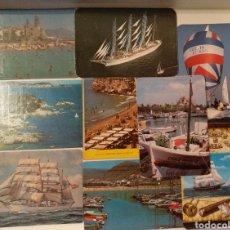 Coleccionismo Calendarios: CALENDARIOS BOLSILLO MARÍTIMOS. Lote 155945528
