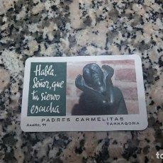 Coleccionismo Calendarios: CALENDARIO H. FOURNIER . PADRES CARMELITAS TARRAGONA. AÑO 1976 . Lote 155986254