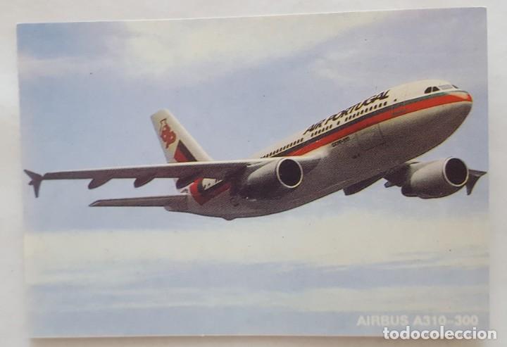 CALENDARIO DE BOLSILLO 1994 AVION AIRBUS A 310-300 COLECCION 2 DE 12 (PORTUGAL) (Coleccionismo - Calendarios)
