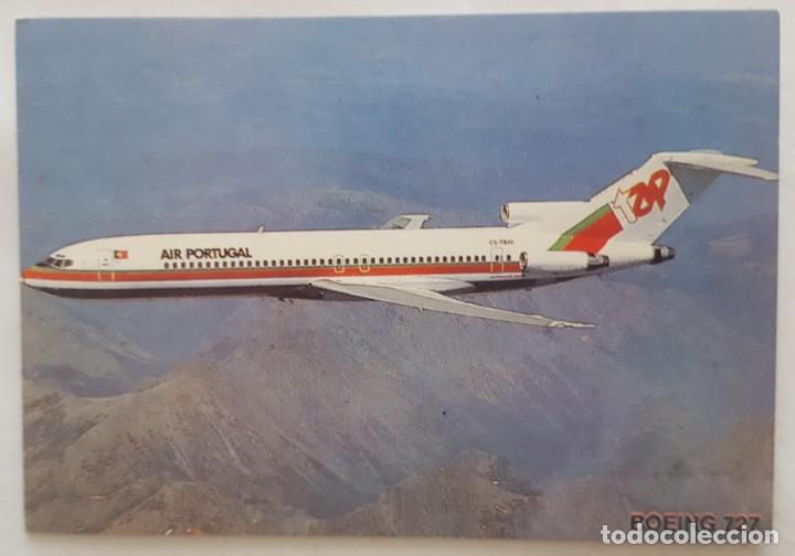 CALENDARIO DE BOLSILLO 1994 AVION BOEING 727 COLECCION 4 DE 12 (PORTUGAL) (Coleccionismo - Calendarios)