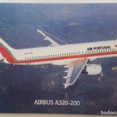 Coleccionismo Calendarios: CALENDARIO DE BOLSILLO 1994 AVION AIRBUS A 320-200 COLECCION 6 DE 12 (PORTUGAL). Lote 156008178