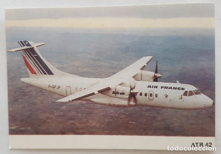 CALENDARIO DE BOLSILLO 1994 AVION ATR 42 COLECCION 8 DE 12 (PORTUGAL) (Coleccionismo - Calendarios)