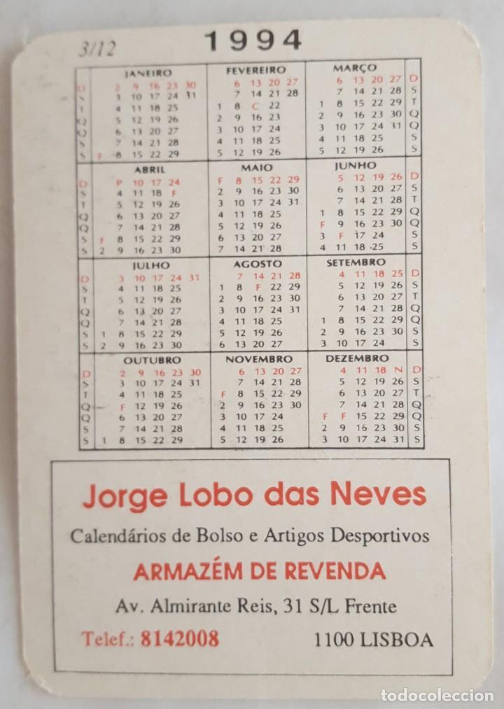 Coleccionismo Calendarios: CALENDARIO DE BOLSILLO 1994 LUCA CADALORA YAMAHA 7 (PORTUGAL) - Foto 2 - 156010254
