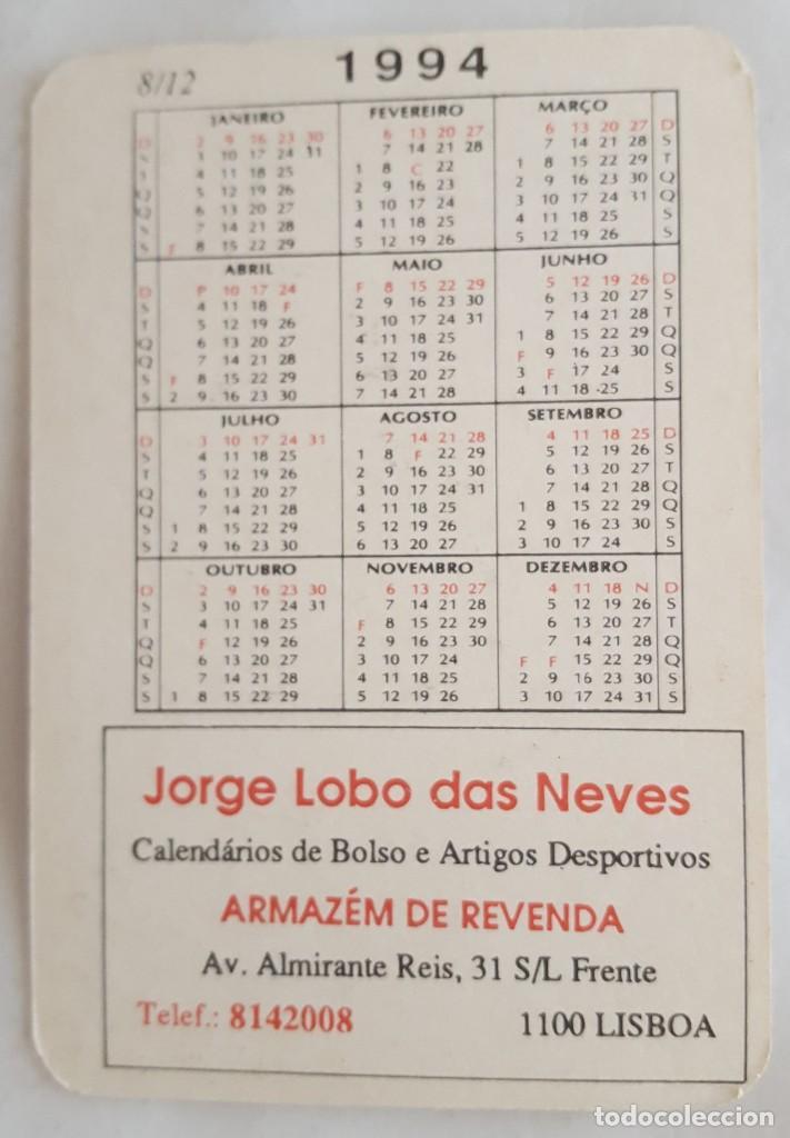 Coleccionismo Calendarios: CALENDARIO DE BOLSILLO 1994 HARLEY DAVIDSON XLH SPORTSTER 883 DELUXE (PORTUGAL) - Foto 2 - 156010478