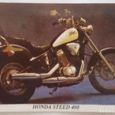 Coleccionismo Calendarios: CALENDARIO DE BOLSILLO 1994 HONDA STEED 400 (PORTUGAL). Lote 156010502